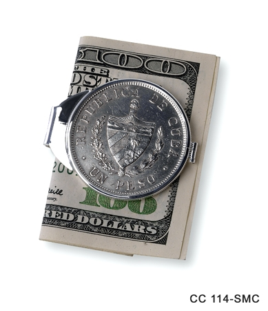 Peso Coin Money Clip