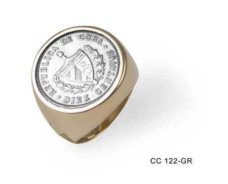 Coin Gold Ring