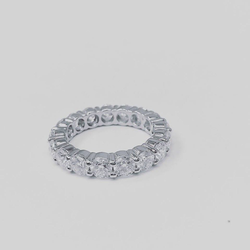 Diamond Eternity Ring in Prong Setting