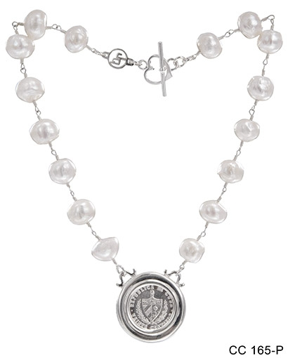 Double Bezel Coin Necklace